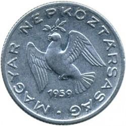 Монета > 10філерів, 1959 - Угорщина  - obverse