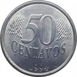 Moneta > 50centavos, 1994-1995 - Brazylia  - obverse
