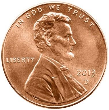 1 Cent 2010 2018 Usa Münzen Wert Ucoinnet