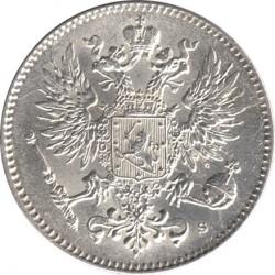 Moneta > 50penniä, 1864-1917 - Finlandia  - obverse