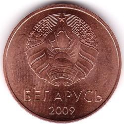 Coin > 5kopeks, 2009 - Belarus  - reverse