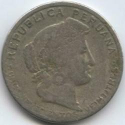 Монета > 5сентаво, 1923 - Перу  (UN MIL NOVECIENTOS VEINTITRES) - obverse