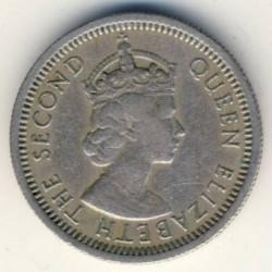 Кованица > 10центи, 1955-1965 - Источни Кариби  - obverse