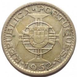 Монета > 10эскудо, 1952-1955 - Ангола  - reverse