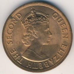 Νόμισμα > 2Σέντς, 1955-1965 - Ανατολική Καραϊβική  - obverse