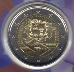 Coin > 2 euro, 2015 - Andorra  (25th Anniversary - Agreement with EU) - obverse