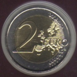 Coin > 2euro, 2015 - Andorra  (25th Anniversary - Agreement with EU) - reverse