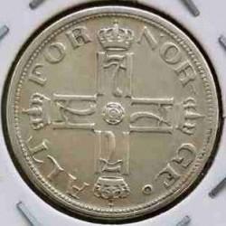 Moneda > 25ore, 1909-1919 - Noruega  - obverse