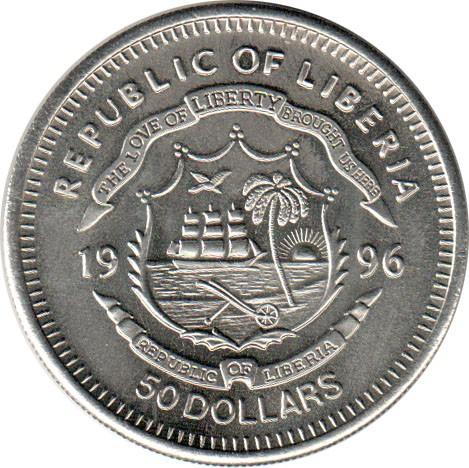 Face On Mars Liberia Coin Value