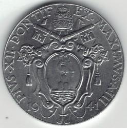 Монета > 1лира, 1940-1941 - Ватикан  - obverse