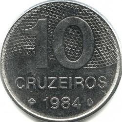 მონეტა > 10კრუზეირო, 1980-1984 - ბრაზილია  - reverse