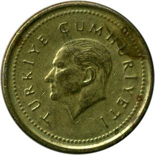 5000 Lira 1995 1998 Türkei Münzen Wert Ucoinnet