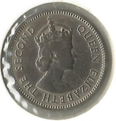 Νόμισμα > 10Σέντς, 1964 - Ανατολική Καραϊβική  - obverse