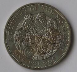 Монета > 5фунтов, 2003 - Гернси  (17-й век монархии) - reverse
