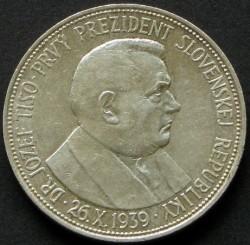 Moneta > 20corone, 1939 - Slovacchia  (Jozef Tiso - 1° presidente della repubblica slovacca) - reverse