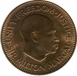 Монета > ½цент, 1964 - Сиера Леоне  - obverse