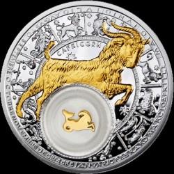 Moneta > 20rubli, 2013 - Białoruś  (Znaki zodiaku - Koziorożec /pozłacany/) - reverse