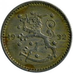 Münze > 1Mark, 1932 - Finnland  - reverse