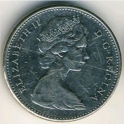 Coin > 5 cents, 1978 - Canada  - reverse