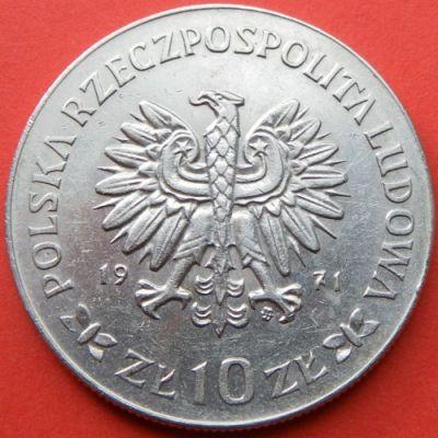 BLUE CROSS Ag TATRA MOUNTAIN RESCUE SERVICE SILVER 10 ZL COIN OF POLAND TOPR