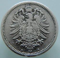 Кованица > 20фенинга, 1873-1877 - Немачка  - obverse