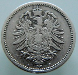 Moneda > 20peniques, 1873-1877 - Alemania  - reverse