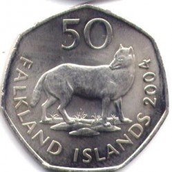 מטבע > 50פנס, 2003-2004 - איי פוקלנד  - obverse