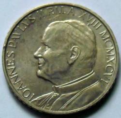 Mynt > 100lire, 1996 - Vatikanstaten  - obverse