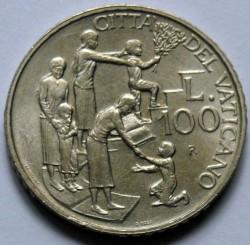 Mynt > 100lire, 1996 - Vatikanstaten  - reverse