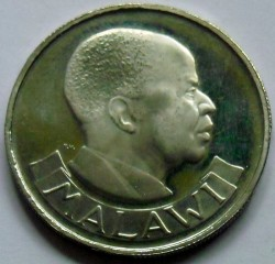 Coin > 1shilling, 1964-1968 - Malawi  - obverse