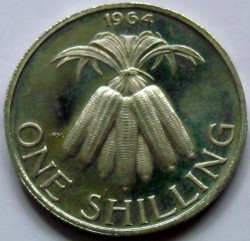 Coin > 1shilling, 1964-1968 - Malawi  - reverse