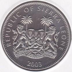 Moneta > 1dollaro, 2003 - Sierra Leone  (XXVIII Giochi olimpici estivi, Atene 2004 - Tiro con l'arco) - obverse