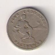 Кованица > 5центи, 1930-1935 - Филипини  - reverse