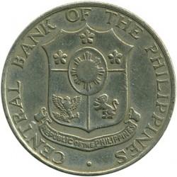 Mynt > 25centavos, 1958-1966 - Filippinene  - obverse