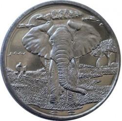 Moneta > 1dollaro, 2007 - Sierra Leone  (Animali - Elefante) - reverse