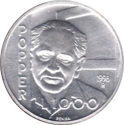 Moneda > 1000liras, 1996 - San Marino  (Karl Raimund Popper) - reverse