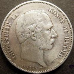 Moeda > 2coroas, 1875-1899 - Dinamarca  - obverse