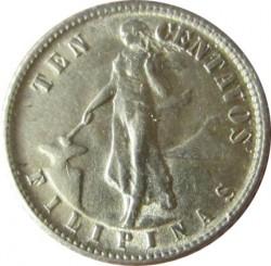 Monēta > 10sentavo, 1937-1945 - Filipīnas  - reverse