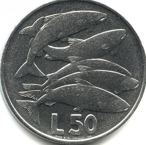 50 Lire 1975 Love In Animals San Marino Münzen Wert Ucoinnet