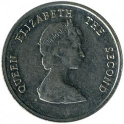 Moneta > 10centų, 1981-2000 - Rytų Karibų valstybės  - obverse