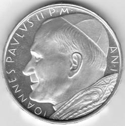 Mynt > 500lire, 1979-1980 - Vatikanstaten  - obverse