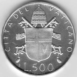 Mynt > 500lire, 1979-1980 - Vatikanstaten  - reverse