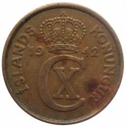 Mynt > 5aurar, 1926-1942 - Island  - obverse