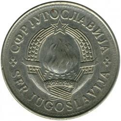Moneda > 10dinares, 1979 - Yugoslavia  - obverse