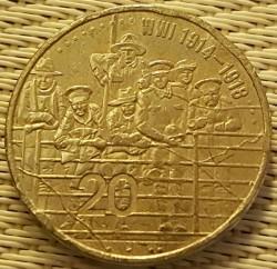 سکه > 20سنت, 2015 - استرالیا  (ANZAC - WWI 1914-1918) - reverse