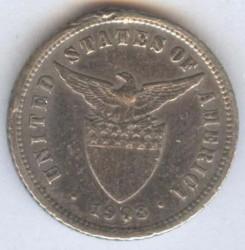 Moneda > 10centavos, 1903-1906 - Filipinas  - obverse