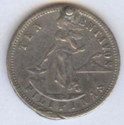 Moneda > 10centavos, 1903-1906 - Filipinas  - reverse