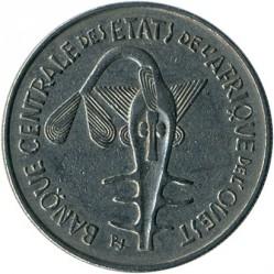 Մետաղադրամ > 100ֆրանկ, 1967-2009 - Արևմտյան Աֆրիկա (BCEAO)  - reverse