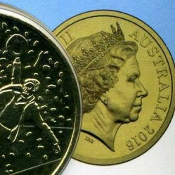 Монета > 25центів, 2016 - Австралія  (Від АНЗАК до Афганістану - Мир) - obverse