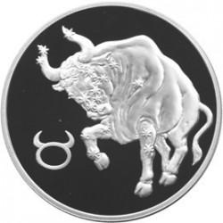 Moneta > 3ruble, 2004 - Rosja  (Znaki zodiaku - Byk) - reverse